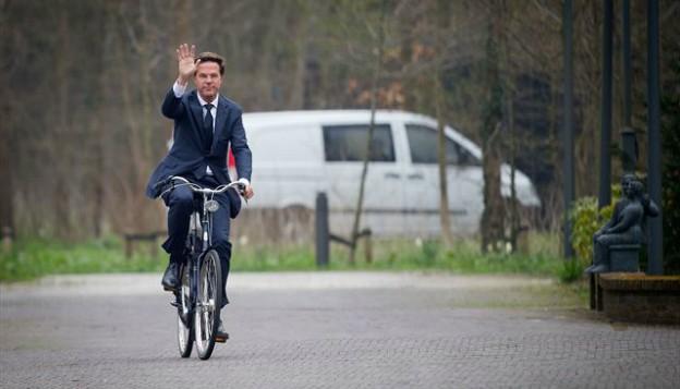 Beter Bespaard Mark Rutte fiets