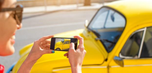 foto's maken auto verkopen advertentie