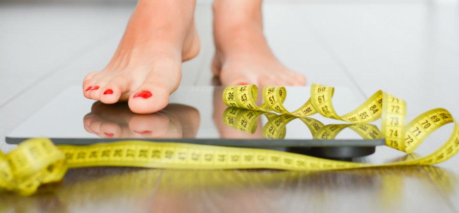 Anorexia nervosa weegschaal