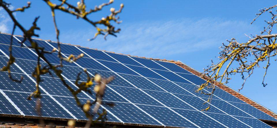 Zonnepanelen in energievergelijker