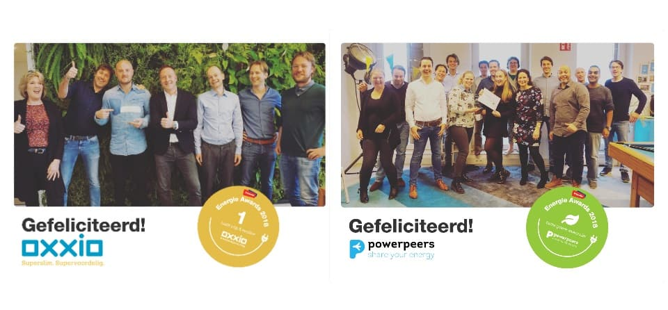 Energie Awards uitreiking