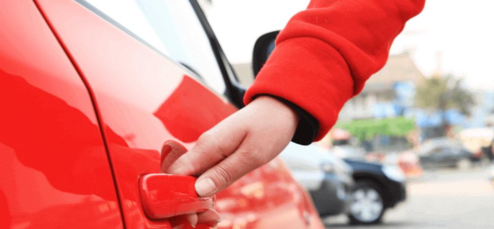 red-car-door